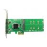 Card PCIe to 4 x NGFF M.2 Key-B SATA, Non Raid - 4 - Server Components - 226,10lei