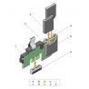 Dual SD Card Reader Module pentru Dell PowerEdge R630 / R730 / R430 / R530 - 0PMR79 - 2 - Componente server - 238,00lei