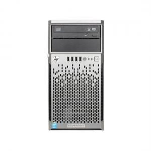 "HP Proliant ML310e G8 v2, 4 x 3.5"", 1 x Intel G3240, 8GB (2x4GB 10600E), P222 512MB, 2 x 460W, 2 ani garantie - 1 - Server Refur"