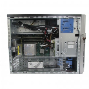 "HP Proliant ML310e G8 v2, 4 x 3.5"", 1 x Intel G3240, 8GB (2x4GB 10600E), P222 512MB, 2 x 460W, 2 ani garantie - 2 - Server Refur"