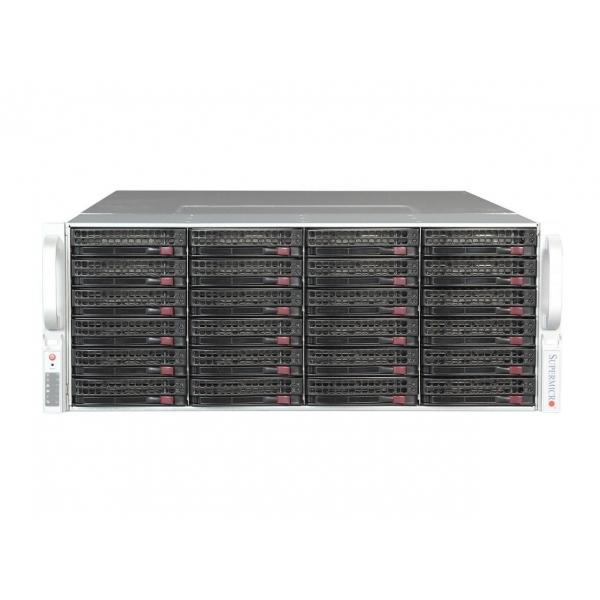 Configurator (CTO) Supermicro CSE-847E1C-R1200LPB, Intel Xeon E5-2600 v1/v2, DDR3, LSI SAS/SATA, 2 Ani Garantie - 1 - Server Con